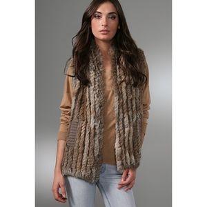Marc Jacobs Real Rabbit Fur Sweater Vest
